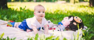 Малыш в один год и три месяца