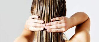 Домашнее восстановления маска для волос