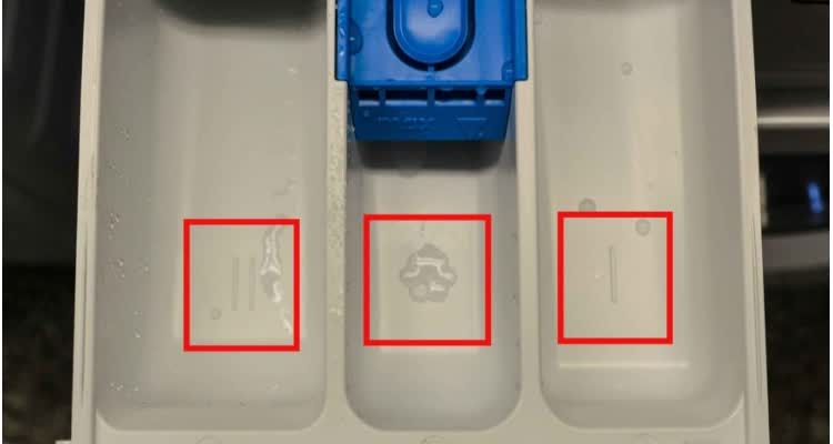 контейнеры для добавления жидкого стирального порошка