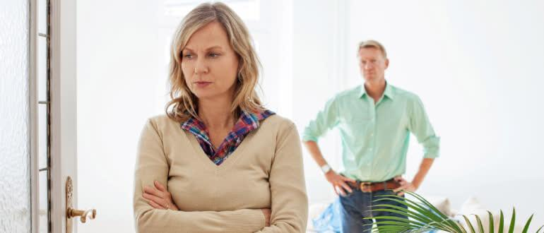 женщина думает как жить после развода
