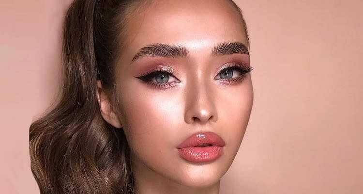 макияж на лице