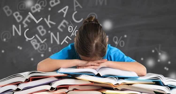 Симптомы дислексии при чтении