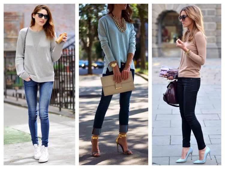 Варианты обуви под Skinny
