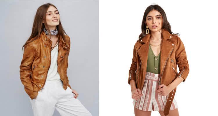светло коричневая кожаная куртка