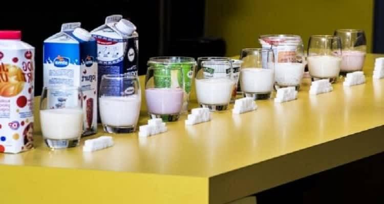 Разный сахар на столе