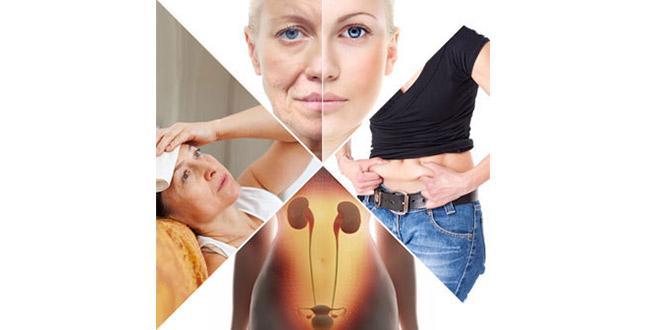 Изменения гормонального фона при менопаузе.