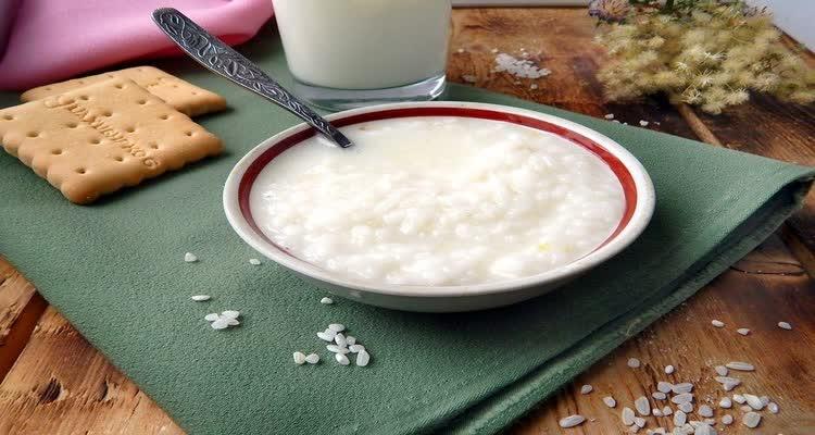 Рис на молоке при изжоге