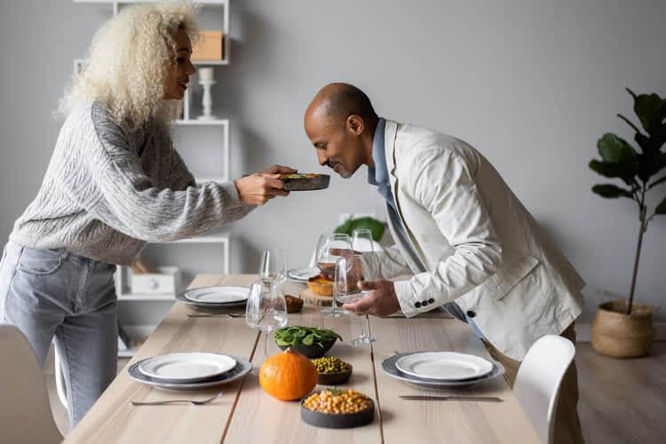 Гастрономические отношения мужчины и женщины