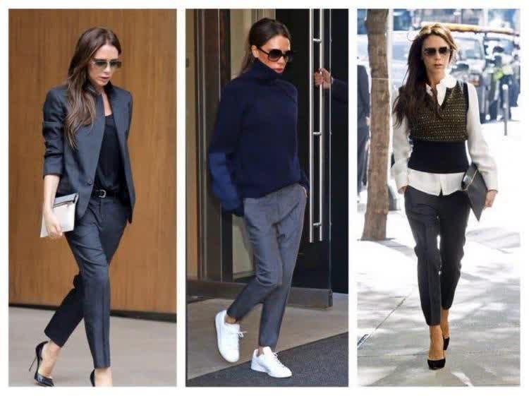 женские штаны офисного типа